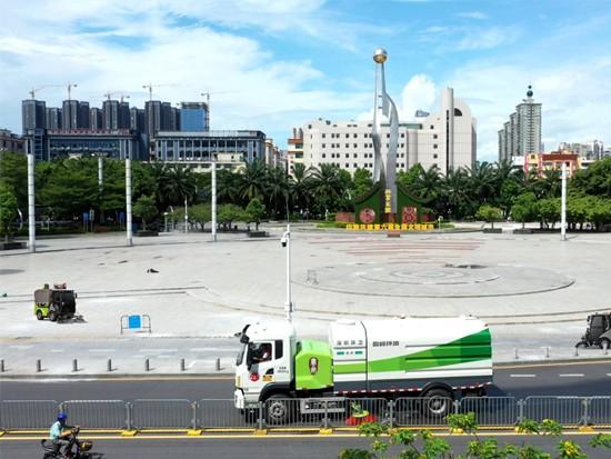 深圳宝安环卫一体化项目专项团队荣获盈峰环境特别嘉奖