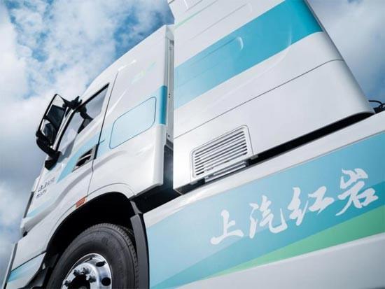 上汽红岩首款氢能市政环卫车正式发布