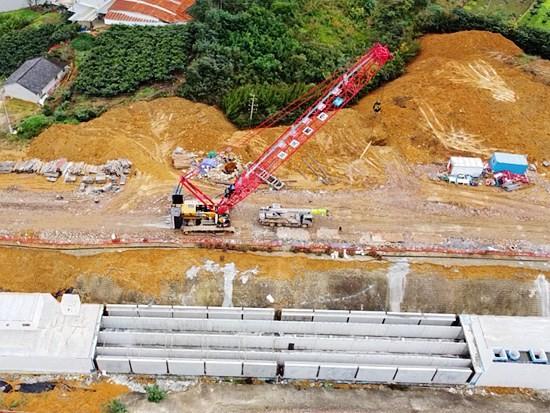 三一起重机助力国内最大规模装配式综合管廊项目