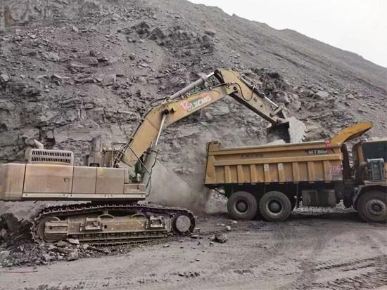矿山利器,悍将徐工 徐工XE490DK驰骋内蒙古矿场