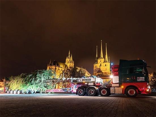 """巨型圣诞树运输?曼恩TGX:""""安排!"""""""