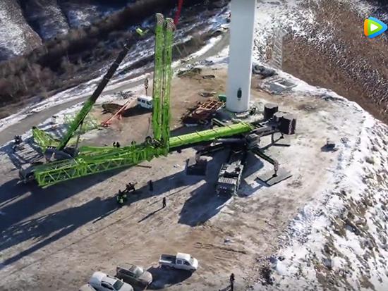 中联重科 Zoomlion ZAT18000H 起重机低温环境风电吊装