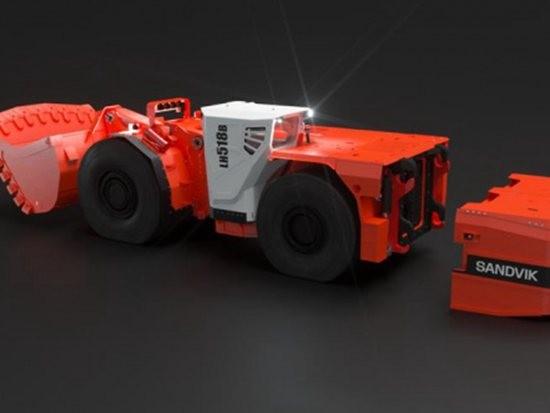 极致于功率和性能:山特维克提供全球首款18吨电池装载机LH518B