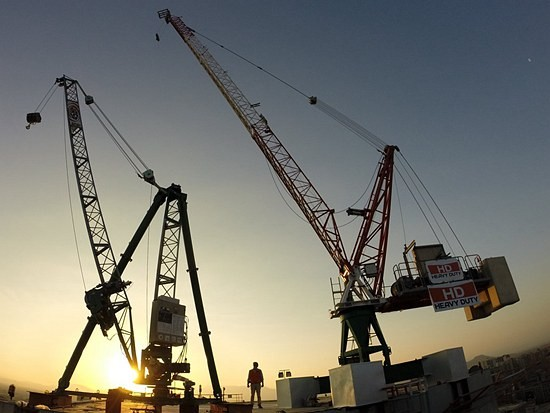JASO起重机拆卸综合解决方案