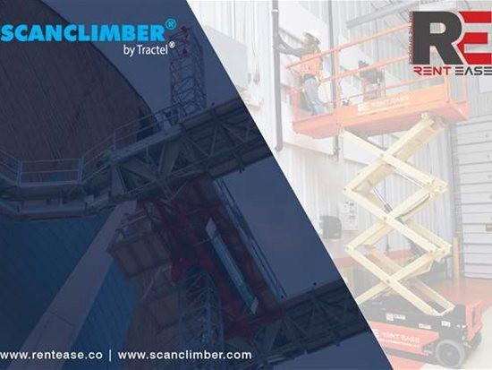 Scanclimber公司与印度的RentEase租赁公司合作
