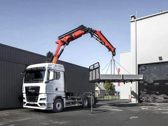 曼恩商用车为全新TGS与TGX卡车随车吊底盘提供新型10吨级前桥