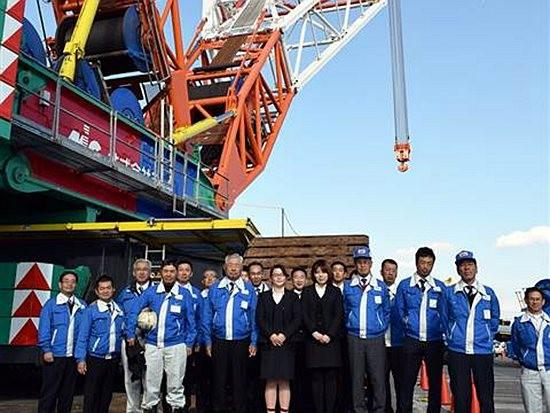 德马格1,600吨起重机交付日本MIC公司