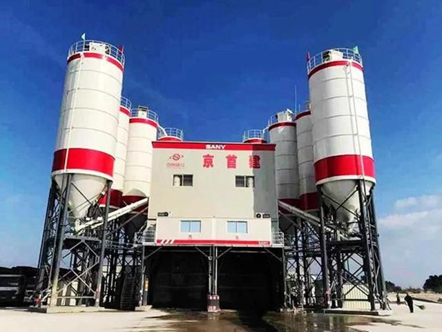 """浇筑""""巨无霸""""原油罐承台,三一成套混凝土设备显神威"""