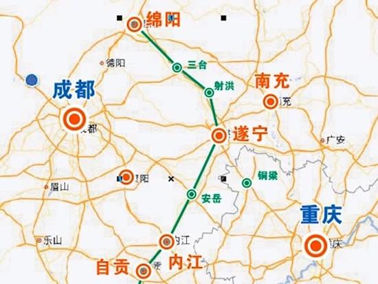 四川11条铁路将陆续开工:9条高铁城际,2条普铁