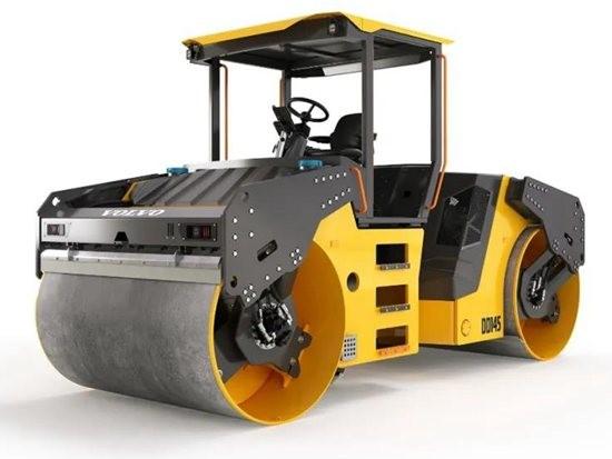 沃尔沃DD145双钢轮振动压路机,为华量身定制!