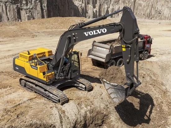 沃尔沃EC350D/DL履带式挖掘机 | 强劲高效,坚实可靠的工作利器