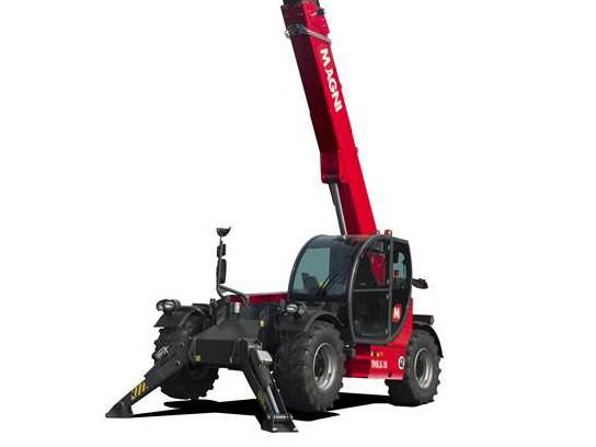 Magni推出新型固定臂伸缩式叉装车