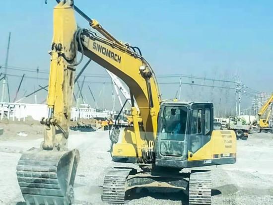 争分夺秒 SINOMACH工程机械设备火速驰援石家庄隔离场所建设