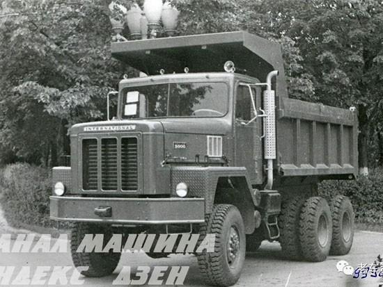 灾难一样的经历 上世纪70年代苏联进口的美国万国牌自卸卡车