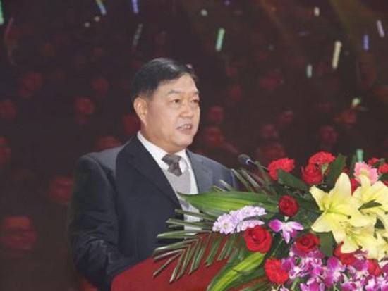 森源集团董事长楚金甫发表新年贺词