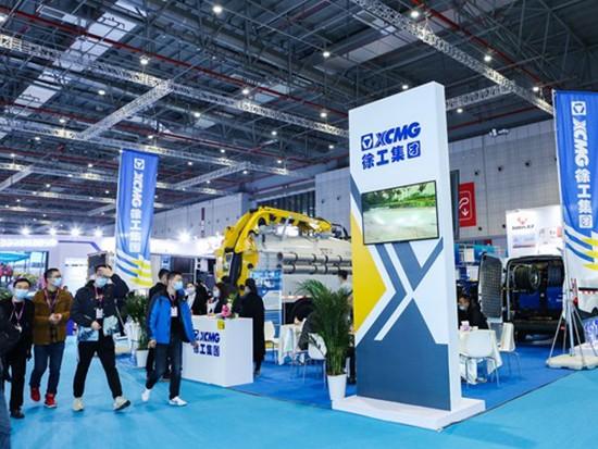 徐工强力吸污车闪耀中国国际城市管网展览会