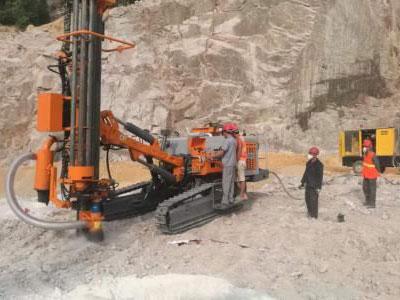 潜孔钻机常见故障及排除方法