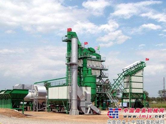 中国沥青搅拌设备技术日趋成熟