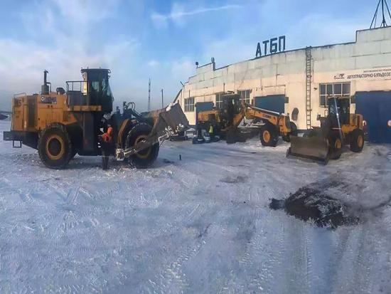 一年作业6000小时!在西伯利亚见证徐工轮推强悍实力