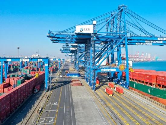 重磅!全球首创传统集装箱码头全流程自动化升级改造项目在天津港实现全面运营