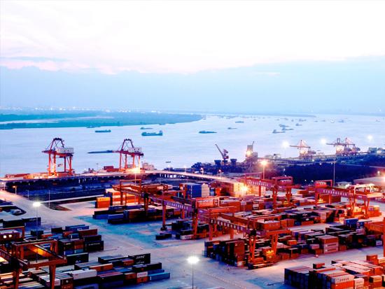 武汉阳逻港实现5G信号全覆盖
