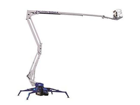 丹麦的Falcon公司推出小型蜘蛛式高空作业平台