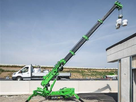 意大利Palazzani公司推出微型蜘蛛式履带起重机