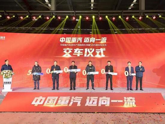 中国重汽2020年度净利预计增长50%~70%