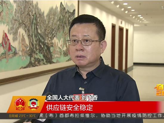 铁建重工党委书记、董事长刘飞香两会声音