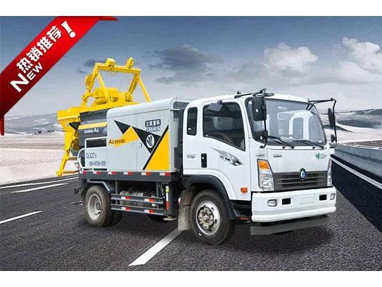 混凝土泵车的维护保养