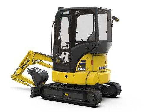 小松MR-5小型挖掘机系列推出新品