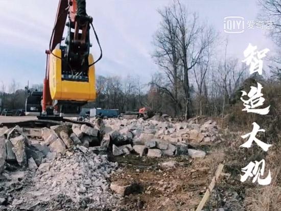 225挖机破碎斗,混凝土石料移动破碎机,挖友们你看怎么样~
