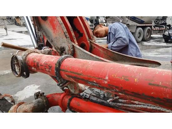 混凝土泵车日常维保