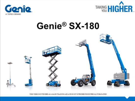 吉尼拖车式曲臂型高空作业平台