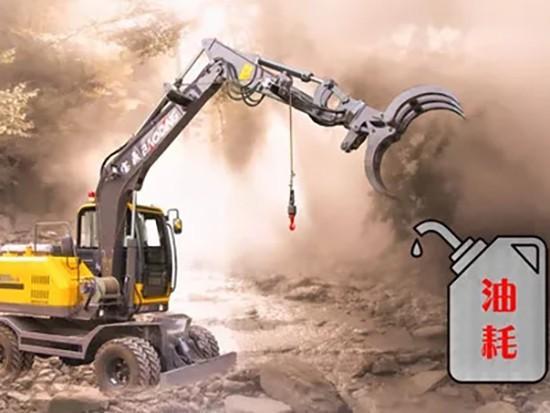 影响轮式挖掘机油耗高低的因素分析