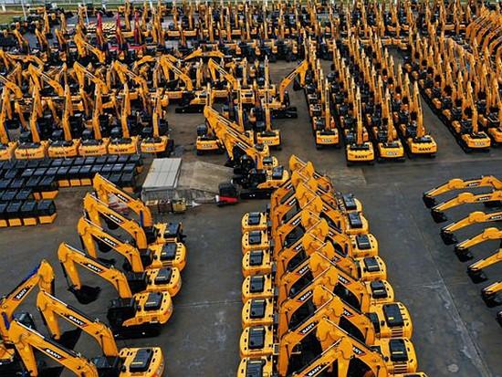 工程機械板塊景氣度高 挖掘機銷量穩定上漲