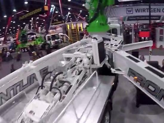 世界混凝土机械展览,高颜值泵车抢先看