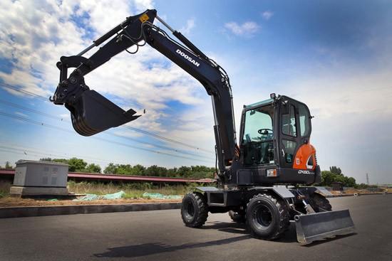 斗山工程机械挖掘机销量在中国创下10年新高