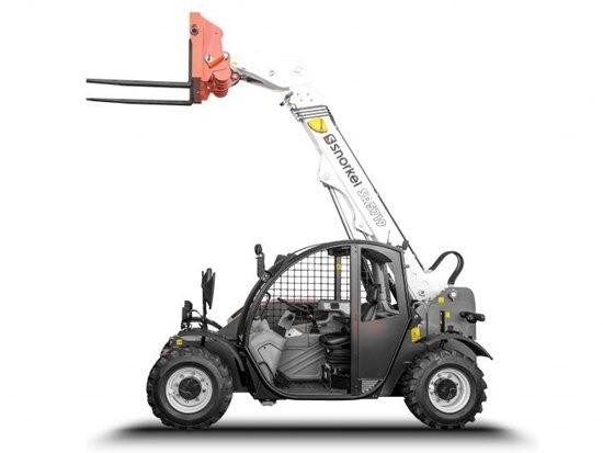 Snorkel伸缩臂叉装车推出开放式驾驶室机型
