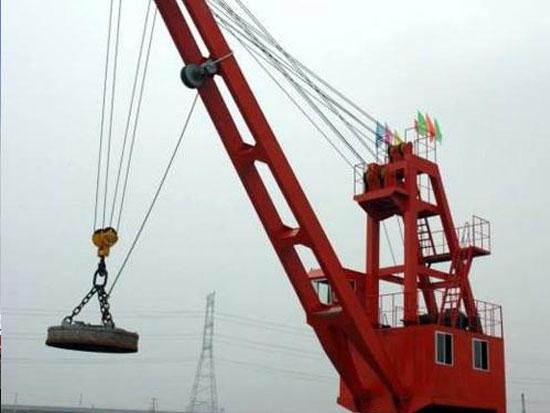港口起重机的防腐作业