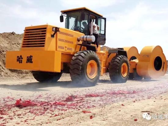 冲击压路机售后处理方法-冲击碾压机怎么维修?