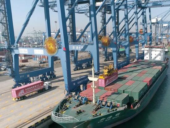 重磅!全球首个港口自动驾驶示范区在天津港获批建设