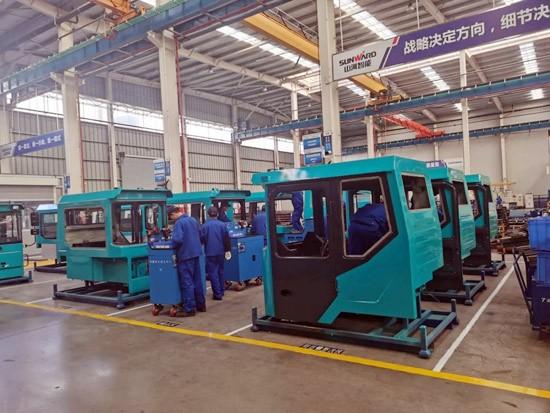 山河智能SWK90矿卡驾驶室顺利发货,开发速度刷新纪录