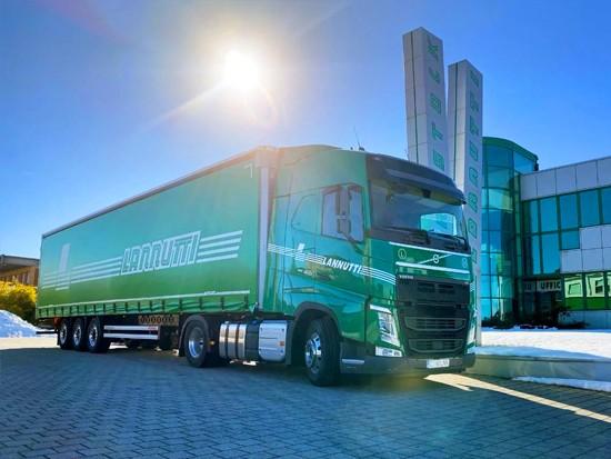 沃尔沃卡车再接千台大单 意大利Lannutti物流购买1000辆最新FH牵引车