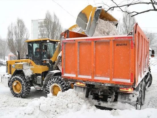 65年来最大降雪!数十台临工装载机紧急出动