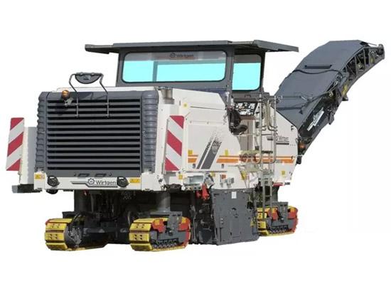 W2000铣刨机铣刨鼓拆解篇