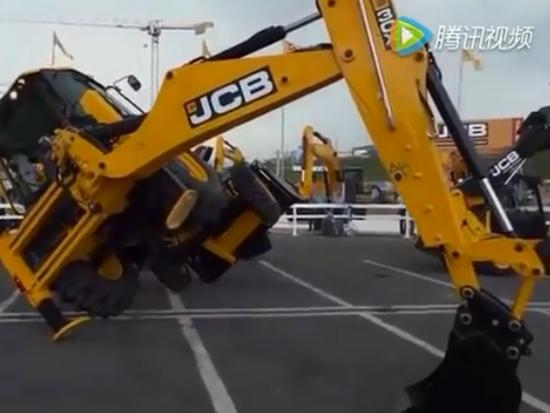 挖掘机特技表演