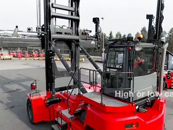 卡尔玛发布新型空箱堆高机