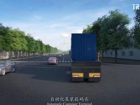 港口码头集装箱装卸系统