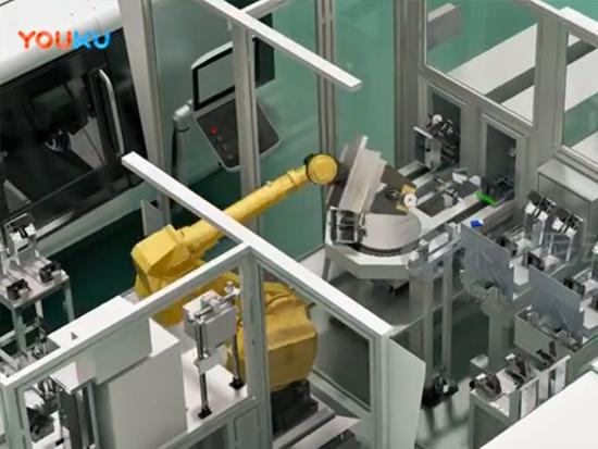振华港机生产线